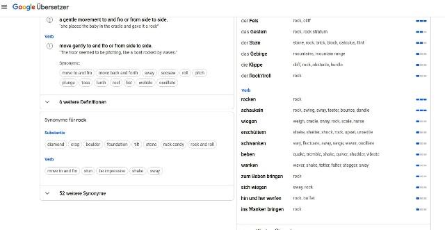 übersetzer Songtext